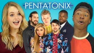 PENTATONIX Bonus video on the REACT channel: http://goo.gl/F2zsH0 N...