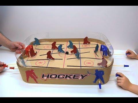 Фигурки для настольного хоккея своими руками
