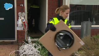 Politie rolt hennepkwekerij met 300 planten op in Heiligerlee