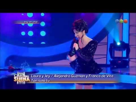 Laura Esquivel y Jey Mammon son Franco De Vita y Alejandra Guzmán - Tu Cara Me Suena 2 (Gala 1)