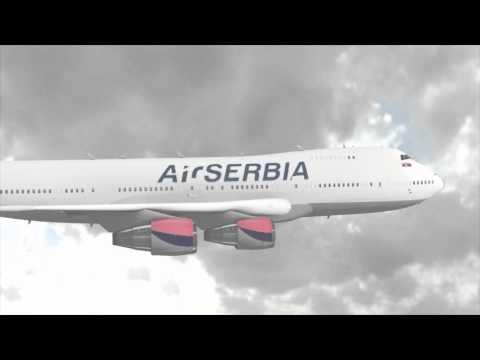 AIR SERBIA - Jumbo Jet (Boeing 747)