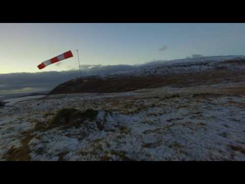 Faroe Islands Epic Winter Flight