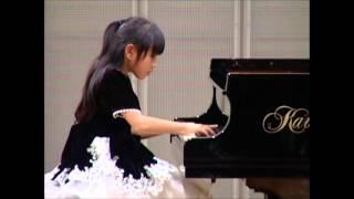 2012年カワイ子供ピアノコンクールです。努力のかいあって努力賞をいた...
