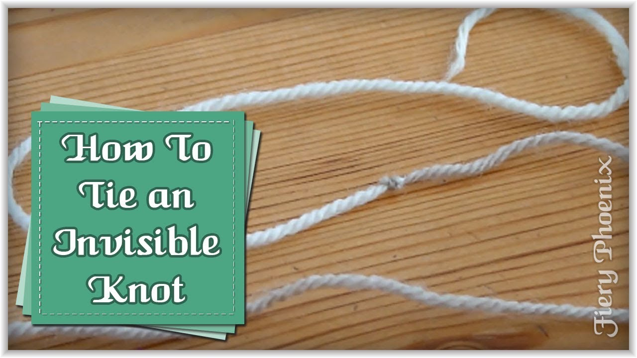 Knitting Joining Yarn Knot : Join knitting or crochet yarn with an invisible knot :: by babs at