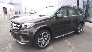 2017 Mercedes-Benz GLS 400 4Matic (X166).  Start Up, Engine, and In Depth Tour.
