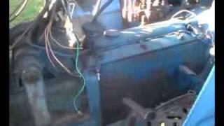 Leyland 384 Nuffield diesel farm tractor