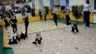Олимп Фитнес. Открытый урок по художественной гимнастике
