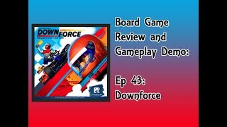 Board Game Review and Gameplay Demo - Downforce