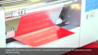 AMD 360B plateless Digital Gold hot Foil stamping Printer