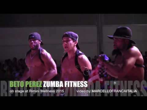 #37 BETO PEREZ and ZUMBA FITNESS on stage Rimini Wellness 2015 ORIGINAL SOUNDTRACK
