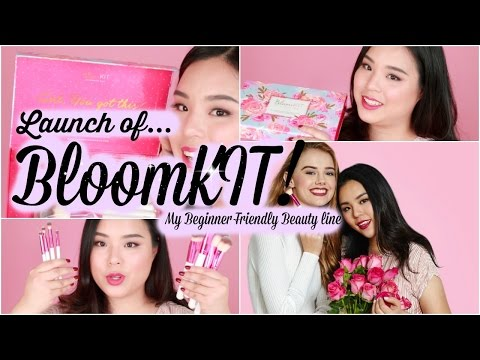 BloomKIT LAUNCH! My OWN Personal Beauty Products!! Free International Shipping!