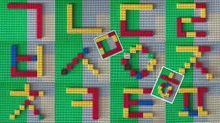 한글공부 ㄱㄴㄷㄹ 5세 블록놀이로 배워요!