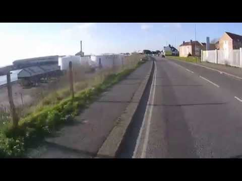 Cycling from Brighton to Worthing, in Sussex, United Kingdom