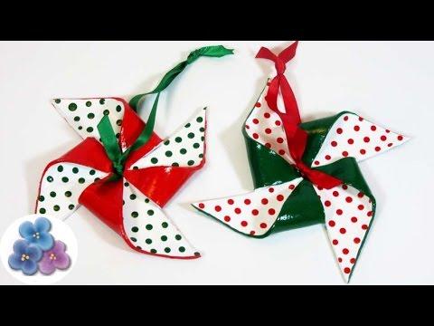 Adornos navide os 2015 como hacer molinos de arcilla - Como realizar adornos navidenos ...