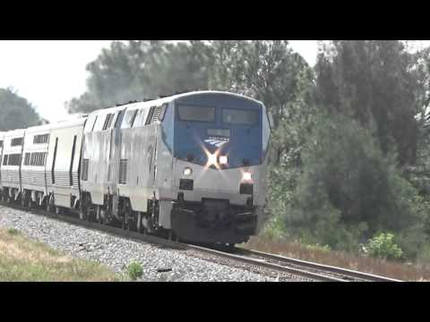 "Amtrak P098-26 w/Private Car ""BABBLING BROOK"" & SFRTA"