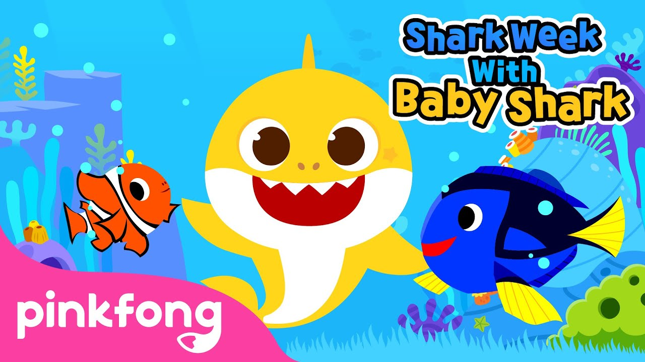 Baby Shark and Undersea Friends | Shark Week with Baby Shark | Pinkfong Songs for Children