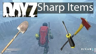 DayZ Xbox One Gameplay Sharp Objects Guide