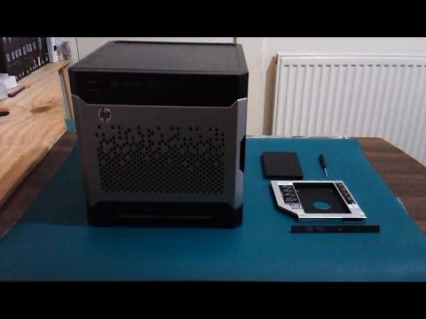 Replacing DVD Burner with SATA HDD Caddy Bay Adaptor