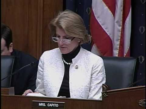 Congresswoman Shelley Moore Capito Statement During Foreclosure Fraud Hearing