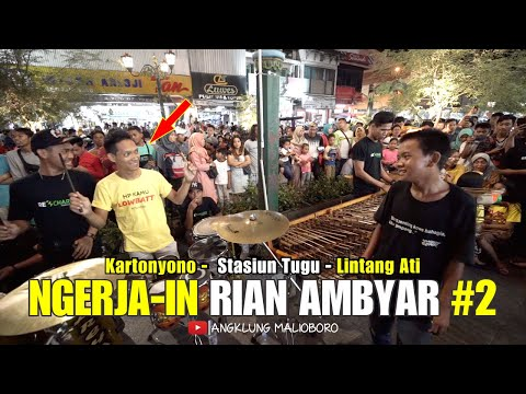 Team Angklung Malioboro NGERJA IN Rian Ambyar BAreng Angklung CAREHAL Jogja