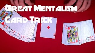 Great Card Trick - Mentalism