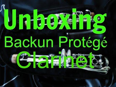 Unboxing My Backun Protege Clarinet