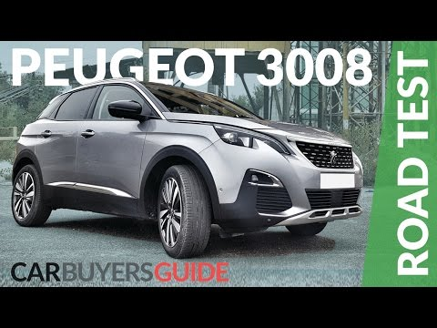 Peugeot 3008 SUV Review 2017