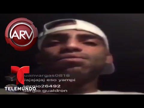 """Arcángel arremete contra Aleks Syntek y lo llama """"cara de papa""""   Al Rojo Vivo   Telemundo"""