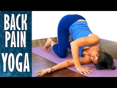 Yoga Stretches for Back Pain Relief, Sciatica, Neck Pain & F