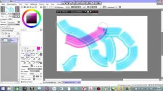 маленький видео урок как рисовать волосы в саи