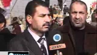 イラクの抗議者、テロ組織MKOの追放を要求