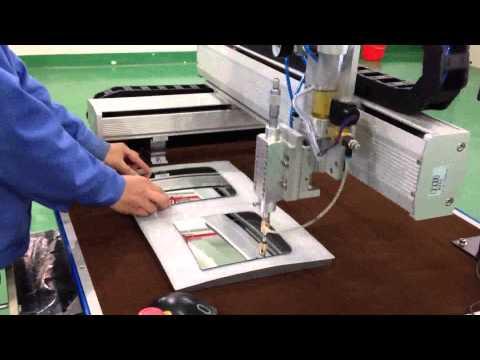 2-Axis Convex Truck Mirror Cutting Machine