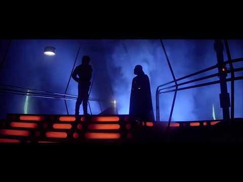 Luke versus Darth Vader in japanese