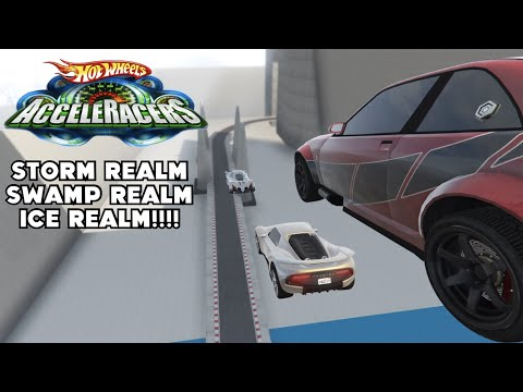 GTA 5 Hotwheels Acceleracers- Storm, Swamp & Ice Realm!!!