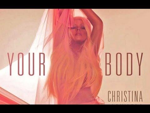 christina aguilera naked body