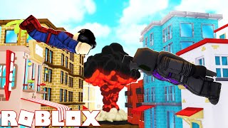 THE VILLAINS INVADED the CITY l MadCity Roblox