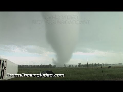 6/4/2015 Storm Chaser Hit By Simla, CO Tornado