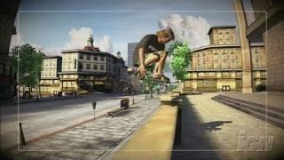Skate Xbox 360 Gameplay - Jump the Gap (HD)