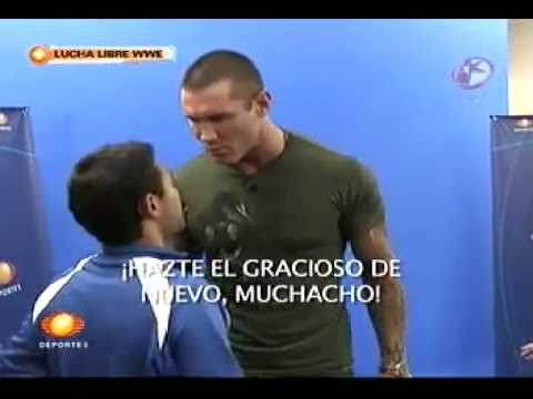 Randy Orton Explodes in a Interview in Mexico
