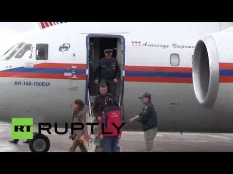 Russia: EMERCOM evacuate Russian citizens from Nepal after deadly earthquake