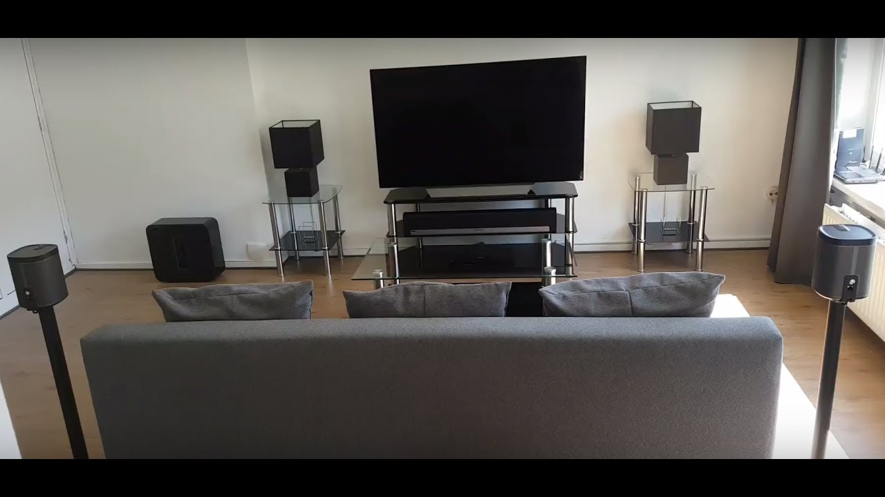 My New Sonos 5 1 Home Theater Setup Youtube