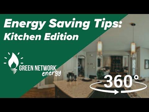 Energy Saving Tips - Kitchen 360°