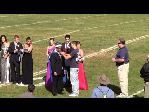 New Hyde Park Memorial High School Homecoming Court Sept 28, 2013