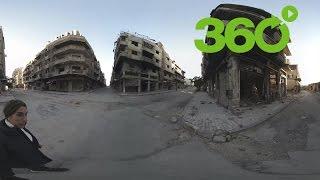 Siria: Paseo en 360º por la ciudad de Homs, destruida por la guerra