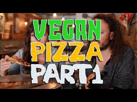 V4V Ep6. VEGAN PIZZA  Part 1 (Brooklyn & Queens)