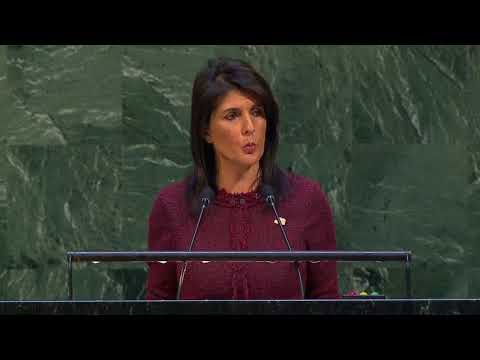 US will 'remember' this day of being 'singled out': UN ambassador Nikki Haley