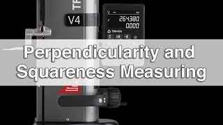 V Height Gage: Perpendicularity and Squareness Measurements streaming