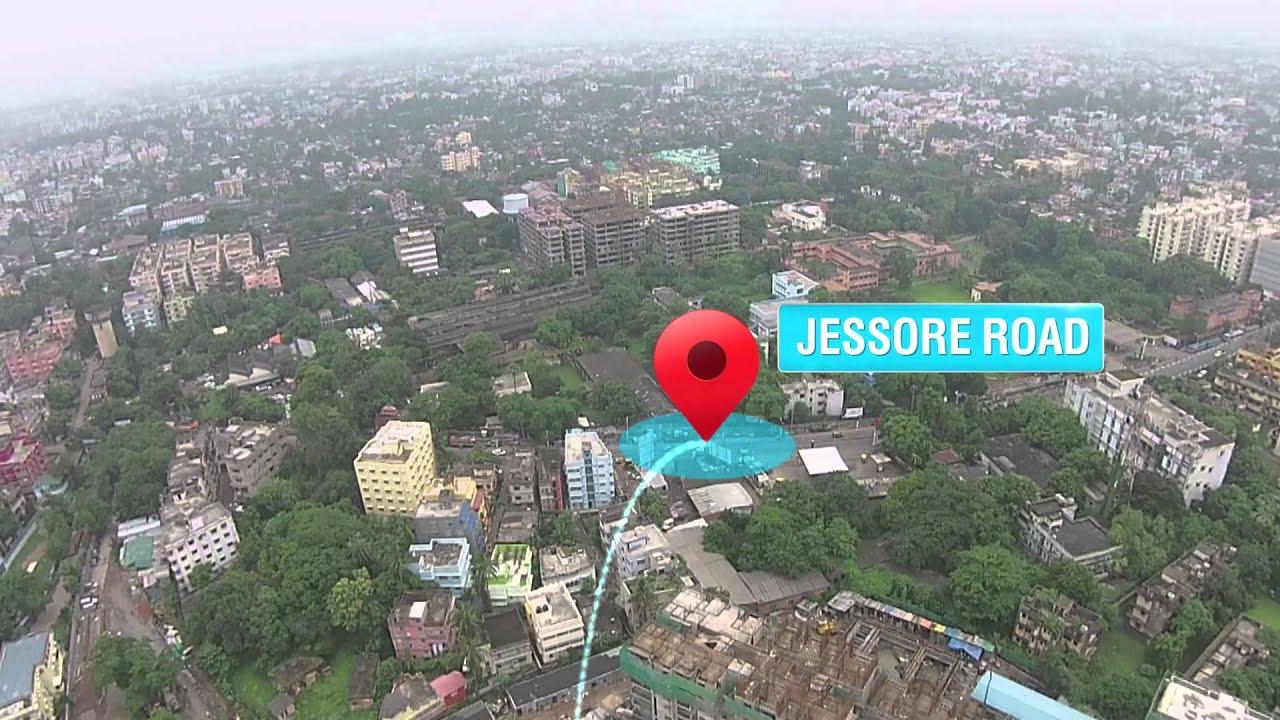 Emami City Location Map Jessore Road Kolkata 91 33 4020 4020
