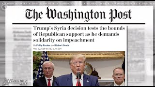 #WashWeekPBS: President Trump announces U.S. troop withdrawal from northern Syria