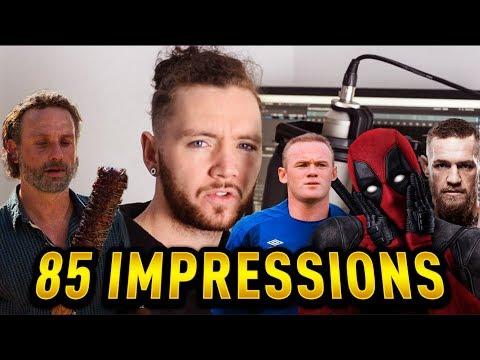 85 VOICE IMPRESSIONS || Scheiffer Bates